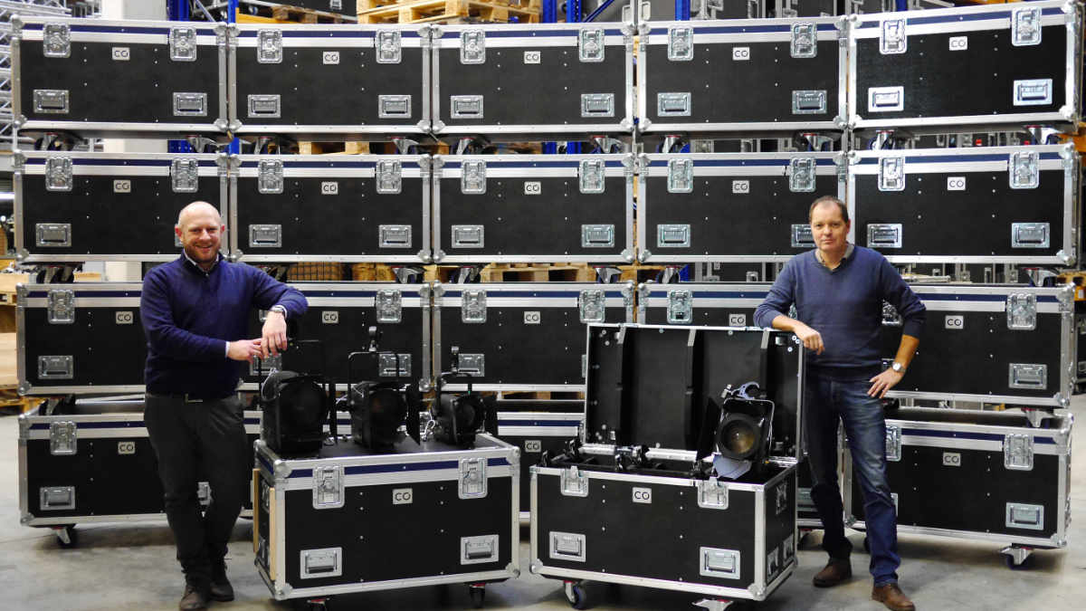 CONRAD Licht & Rigging Support investiert in die KL-Fresnel-Serie