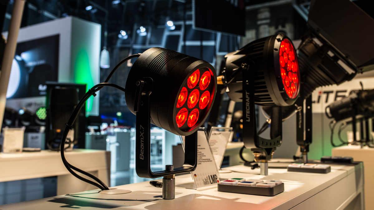 LMP Lichttechnik auf der ISE in Amsterdam