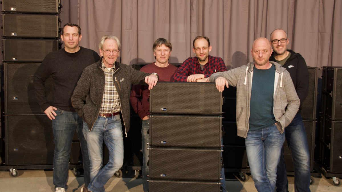 Jordans & Hompesch investiert in Meyer Sound