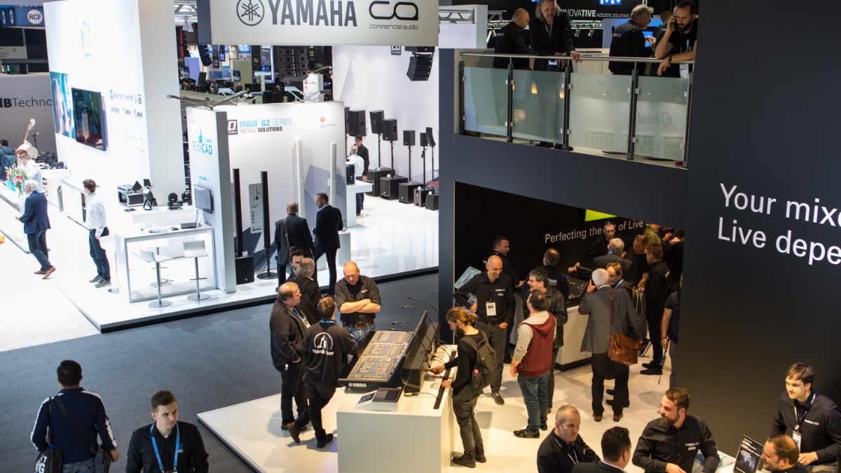 Yamaha entscheidet sich für Musikmesse und Prolight + Sound