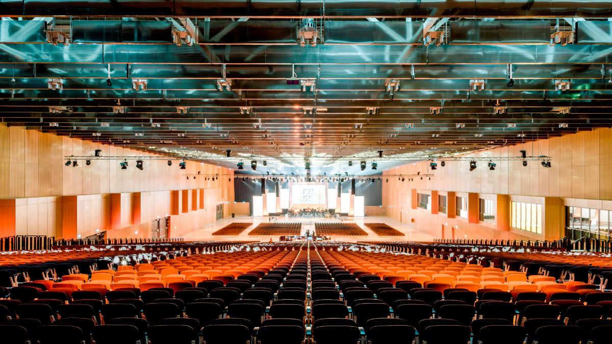 SALZBRENNER media stattet das RheinMain CongressCenter aus