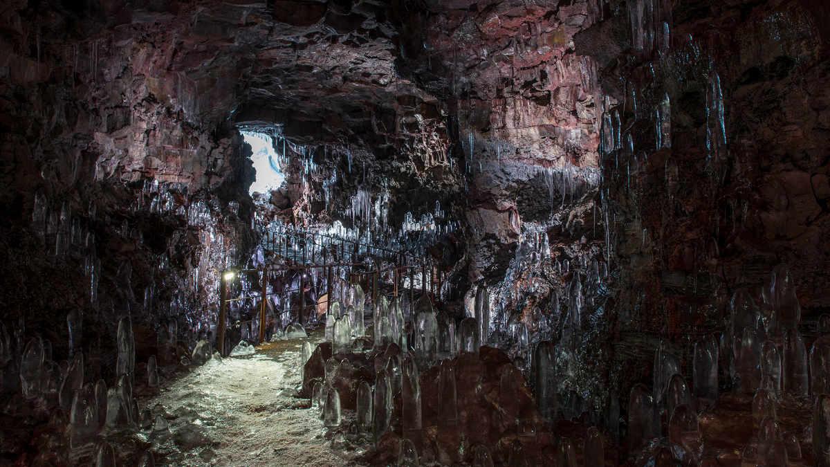 Tunnelblick für ANOLIS im The Cave Island