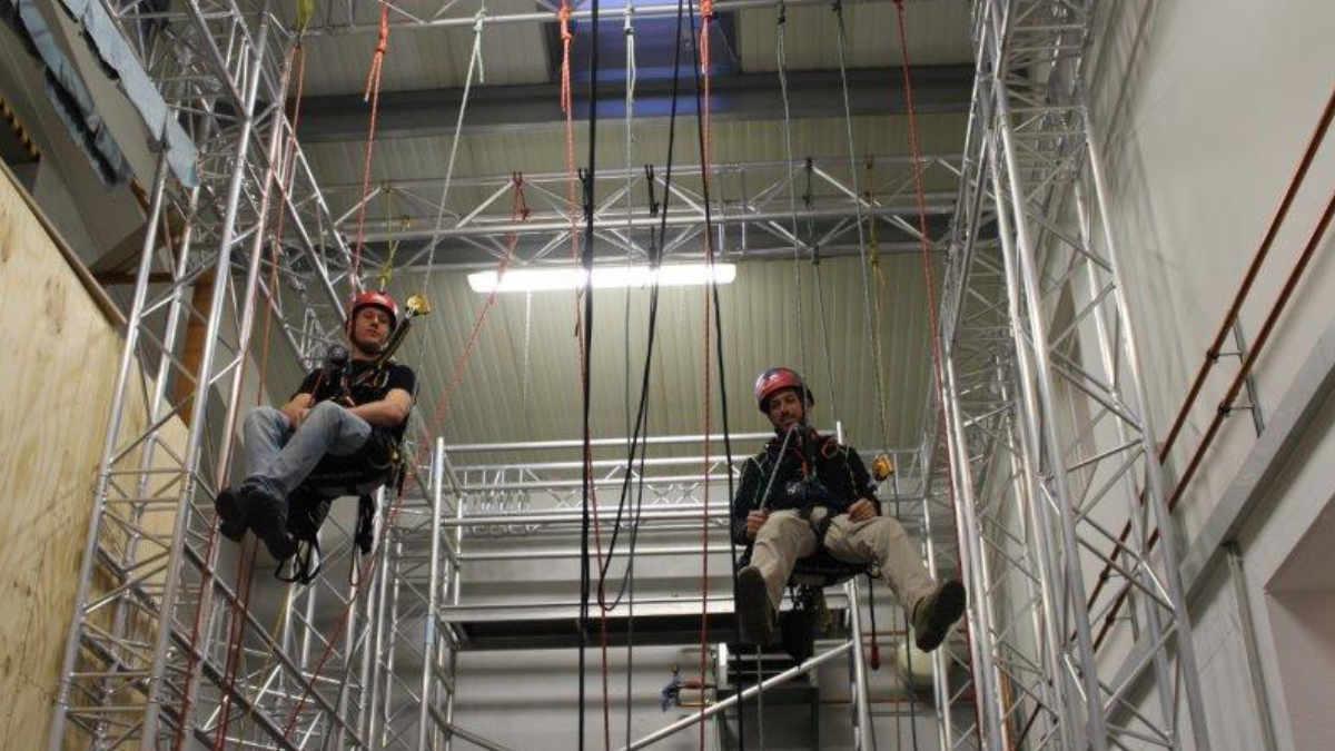 70 Meter Prolyte H40V für das Kölner Seil Kommando