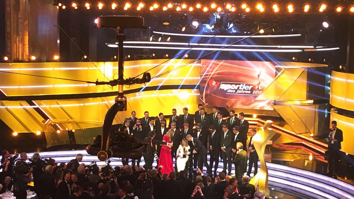 Robycam Compact für die ZDF-Gala Sportler des Jahres
