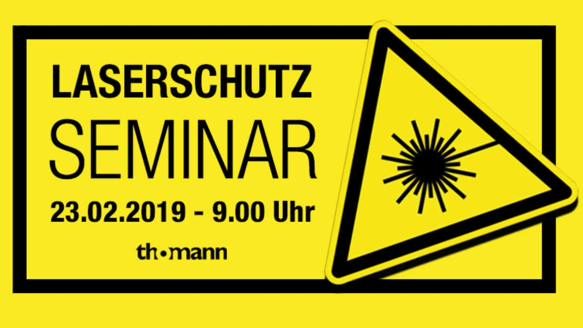 Musikhaus Thomann veranstaltet Laserschutzseminar