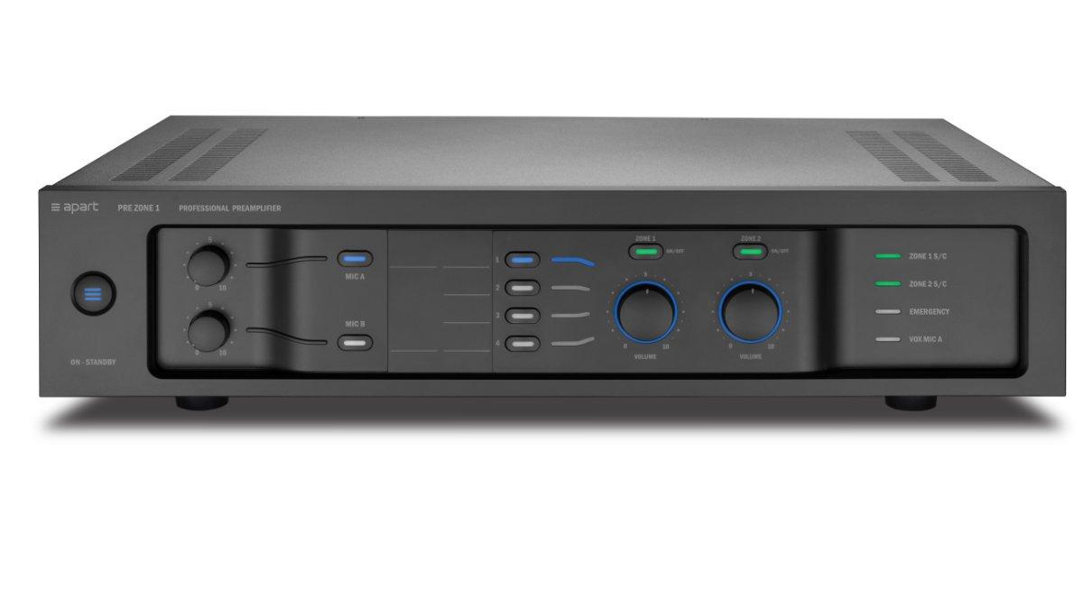 Apart Audio präsentiert Audio-Installationsneuheiten auf der ISE