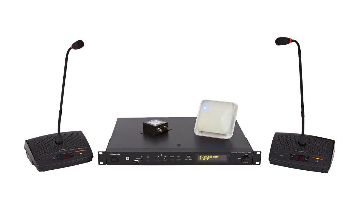 Audio-Technica stellt Infrarot-Konferenzsystem ATUC-IR vor