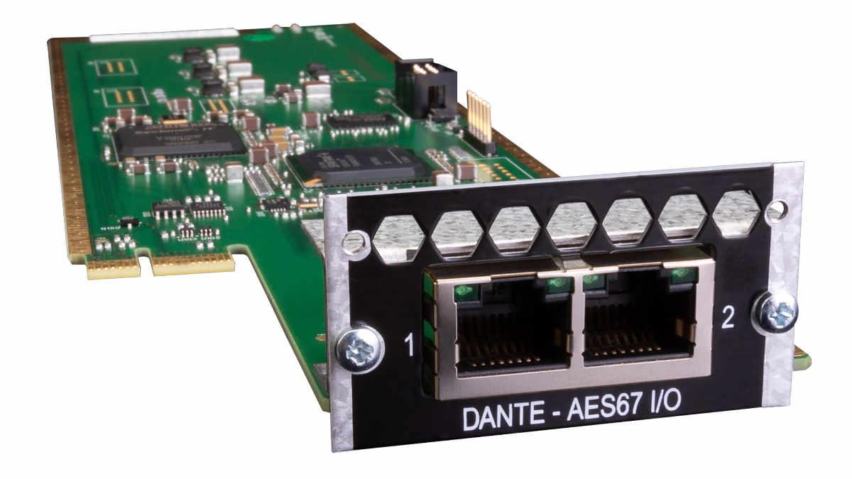 128-Kanal DANTE-Audiokarte für das Pro Tools | MTRX vorgestellt