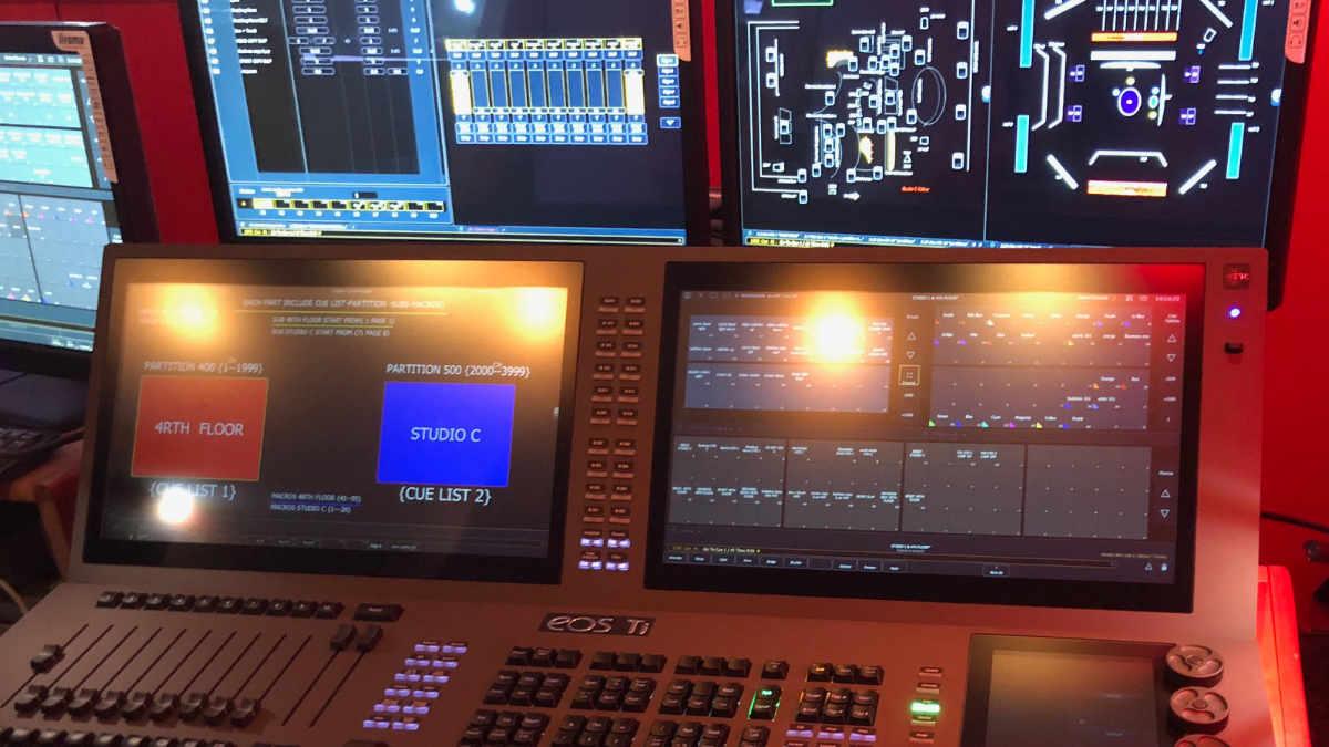 Oasis Enterprise stattet Al Arabiya mit einer Eos Ti-Lichtkonsole aus