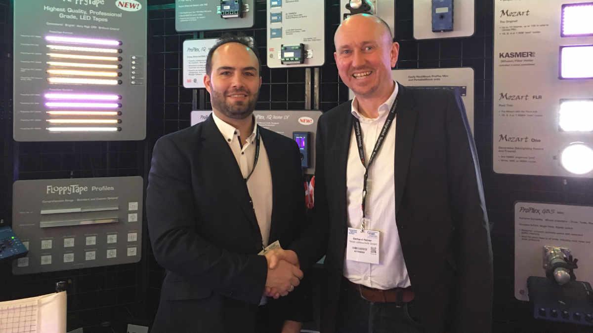 Feiner vertreibt ProPlex, Solaris und Intelligent Marquee System