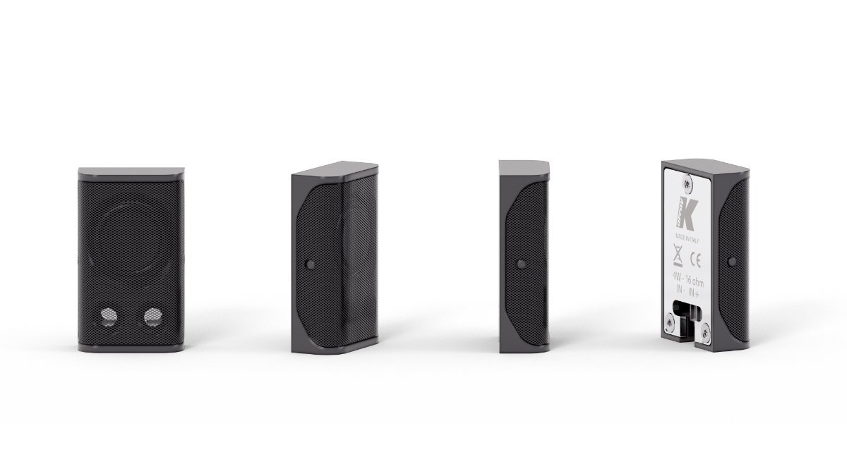 K-array präsentiert Lyzard-KZ-1 Miniatur-Lautsprecher und Vyper-KV25 Linienstrahler