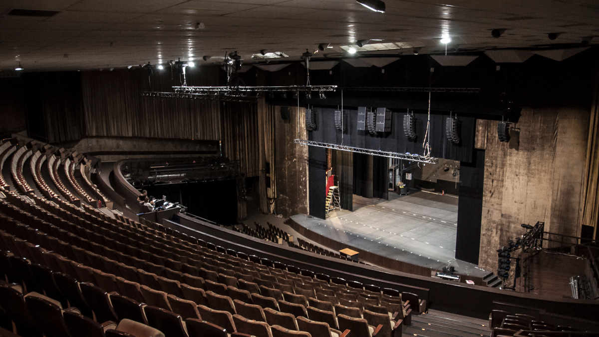 L-ISA Technologie für das Moskau Musical Theater