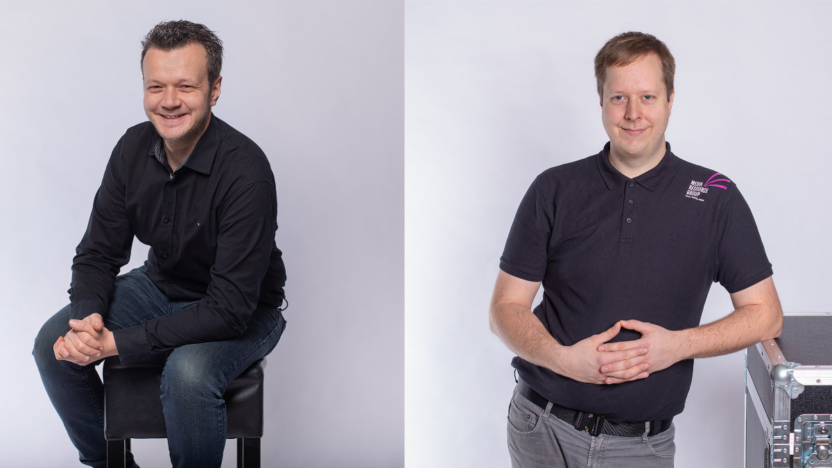 Leopold Hollerith und Kilian Körber verstärken die Media Resource Group