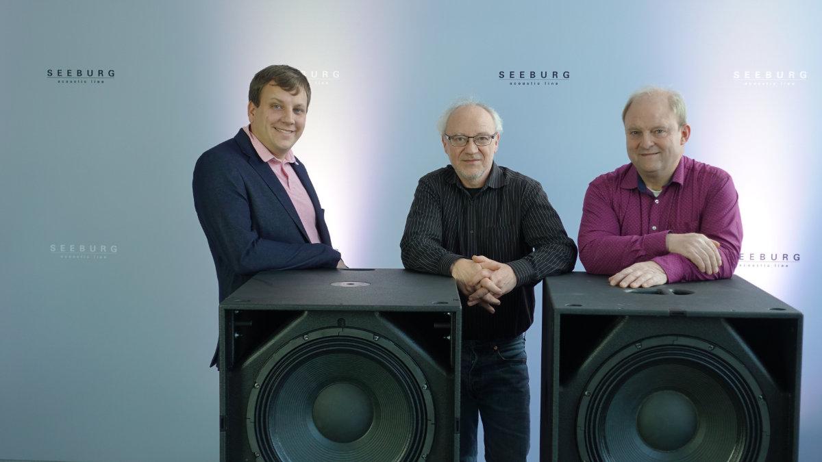 Simon Land verstärkt Seeburg acoustic line