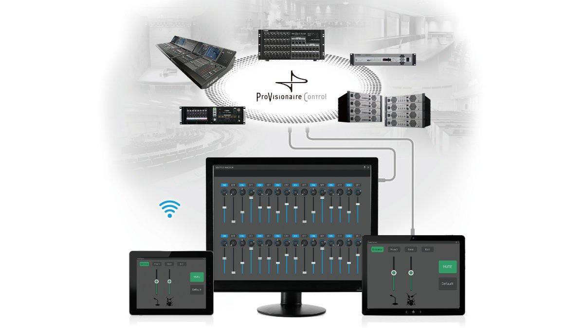 Yamaha kündigt innovative Features der ProVisionaire-Serie an