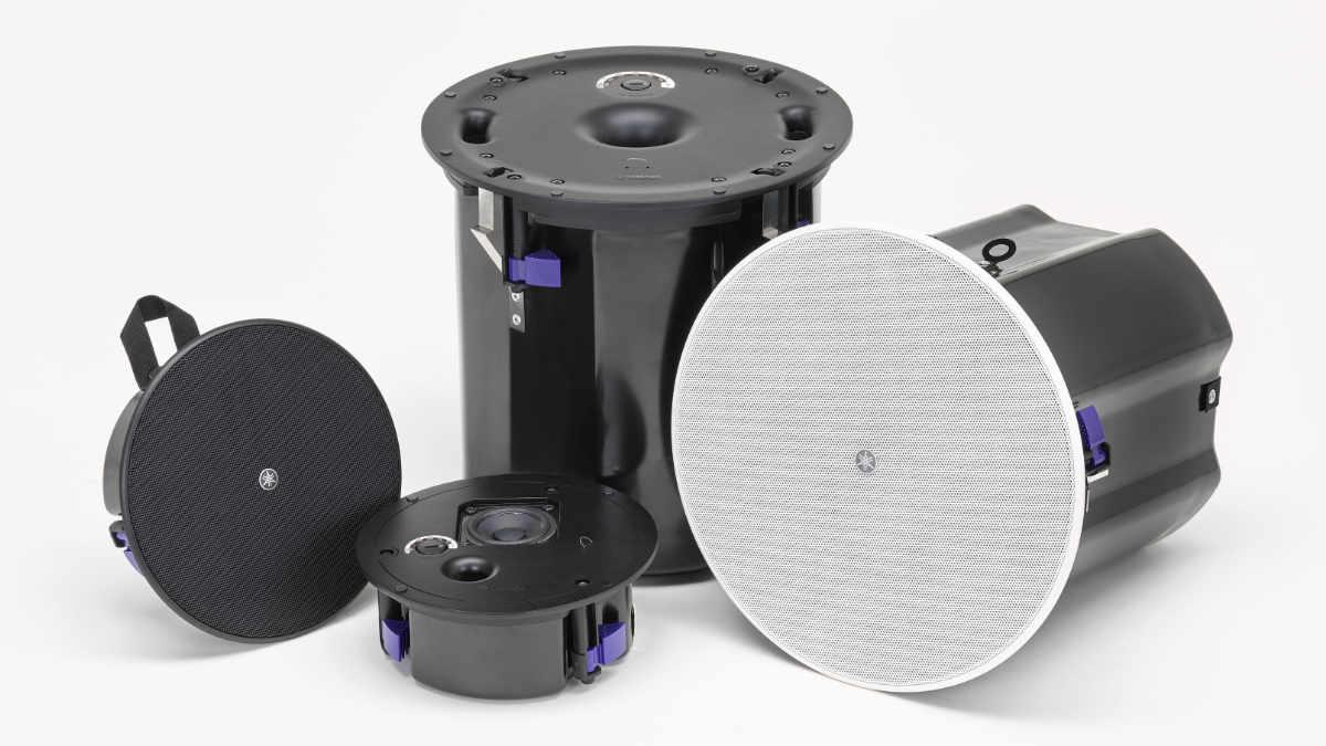 Yamaha stellt Deckenlautsprecher VXC2F und Deckensubwoofer VXC8S vor