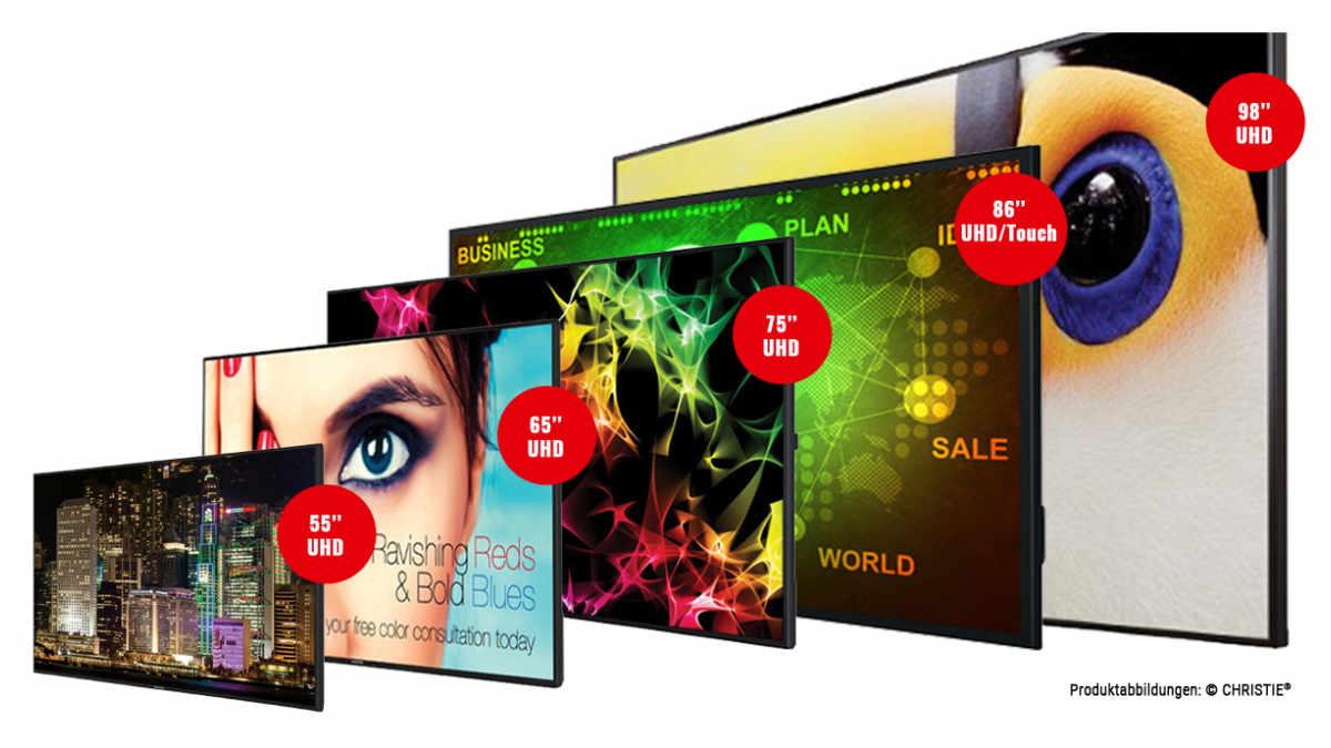 UHD-Modelle der Christie Access-Serie exklusiv bei publitec