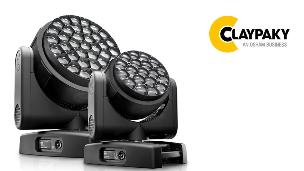 Claypaky stellt das LED-Washlight HY B-EYE vor