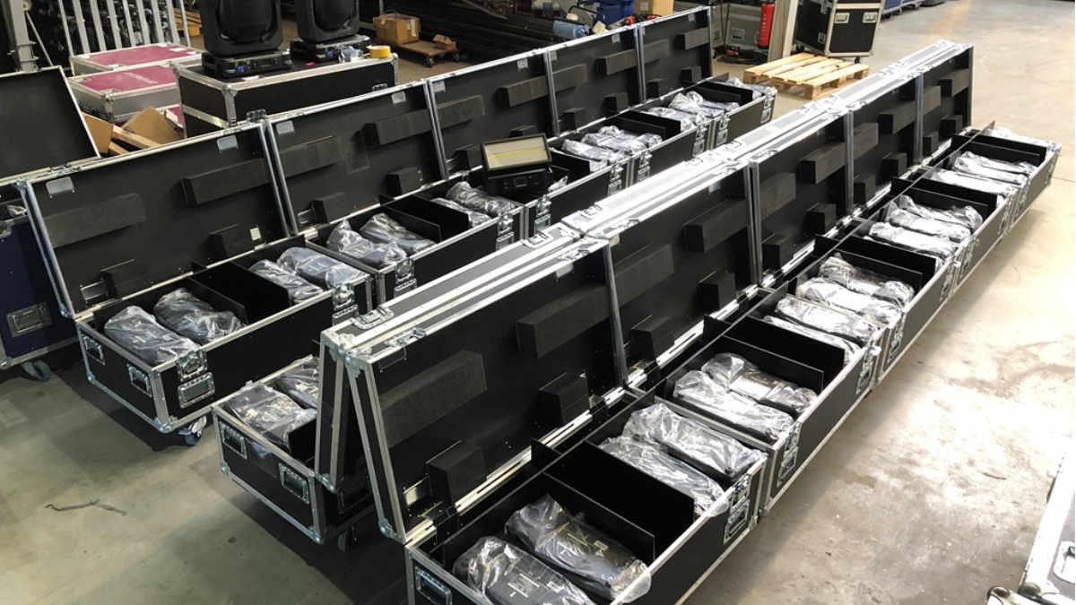 CONRAD Licht & Rigging Support investiert in Scheinwerfer von GLP