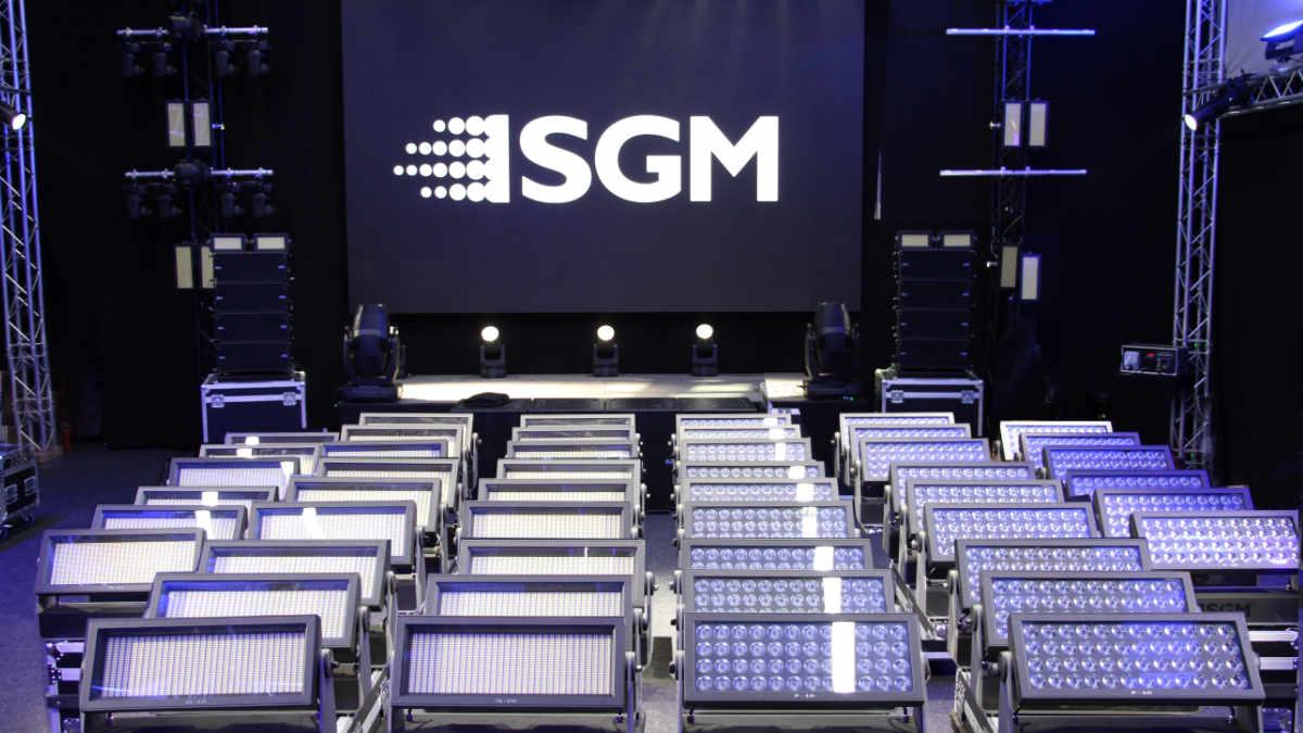 SGM zeigt den G-7 Beam und die VPL-Serie auf der Prolight + Sound