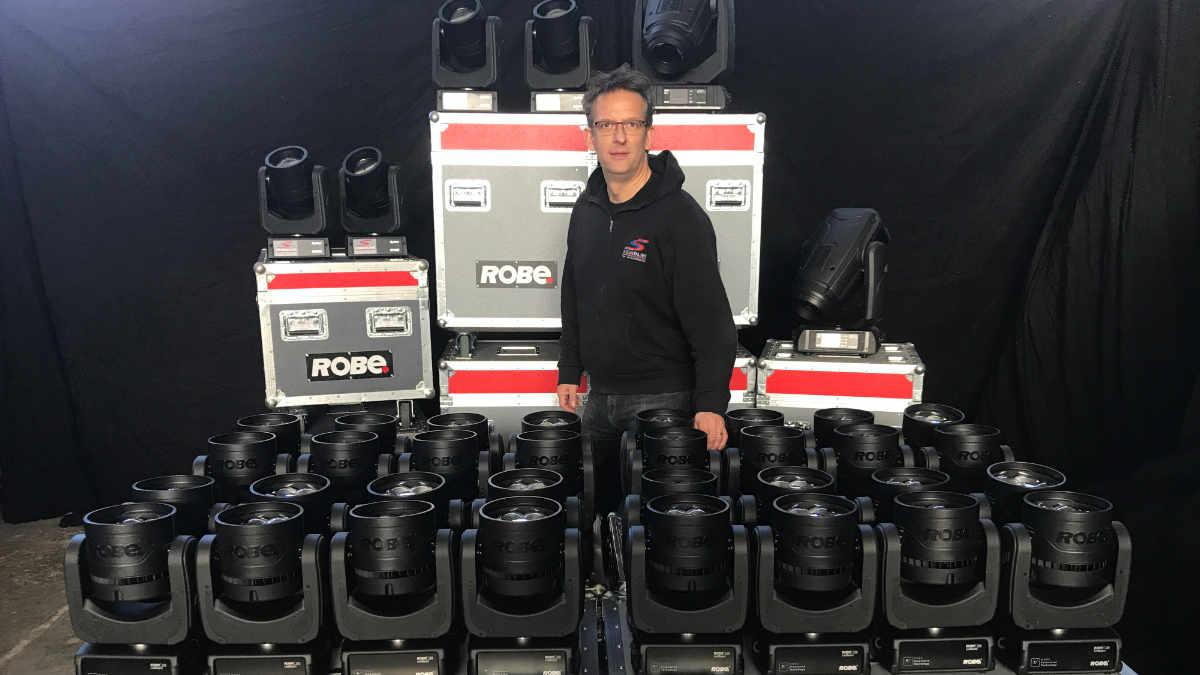 SOUNDLINE Ton+Lichttechnik setzt auf ROBE LEDBeam 150