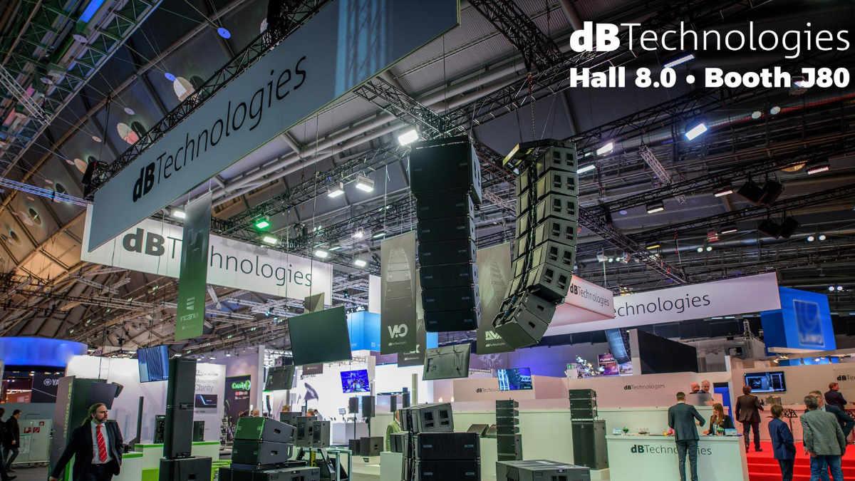 dBTechnologies auf der Prolight + Sound