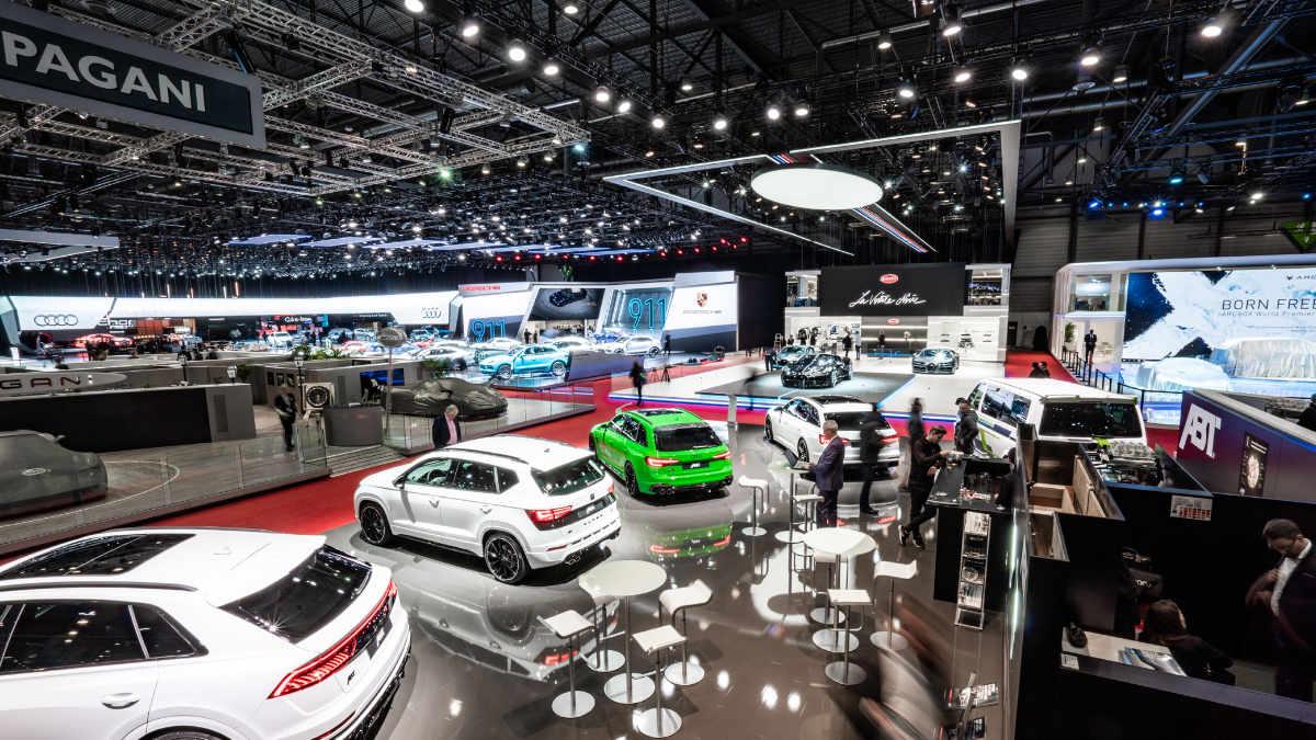 dlp motive für ABT Sportsline beim Genfer Auto-Salon