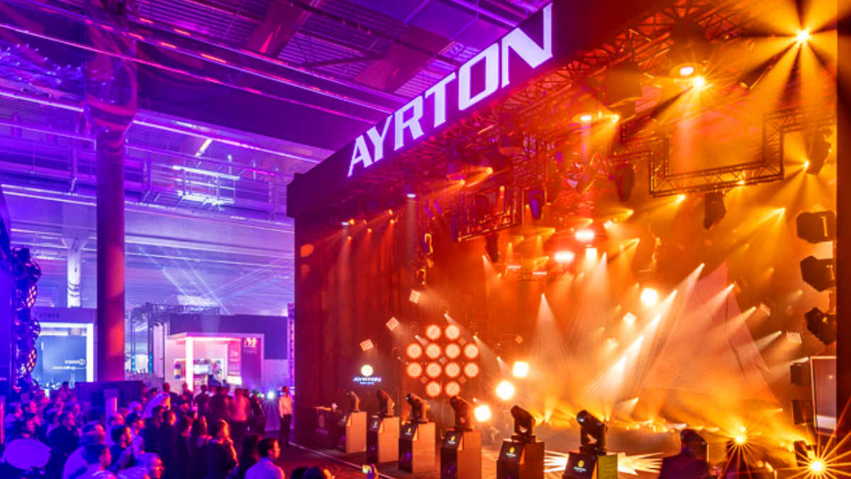 Ayrton zeigt auf der Prolight + Sound erstmals Perseo-S und Huracán-X
