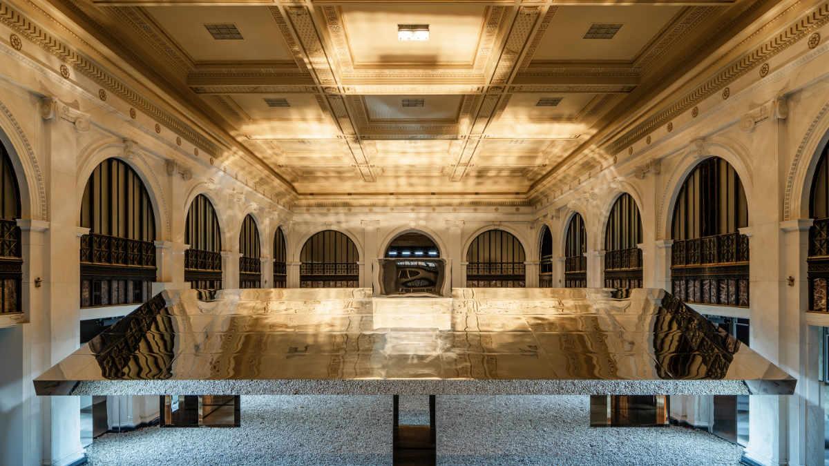 GLP lässt die Spiegelinstallation Mirage in Detroit scheinen