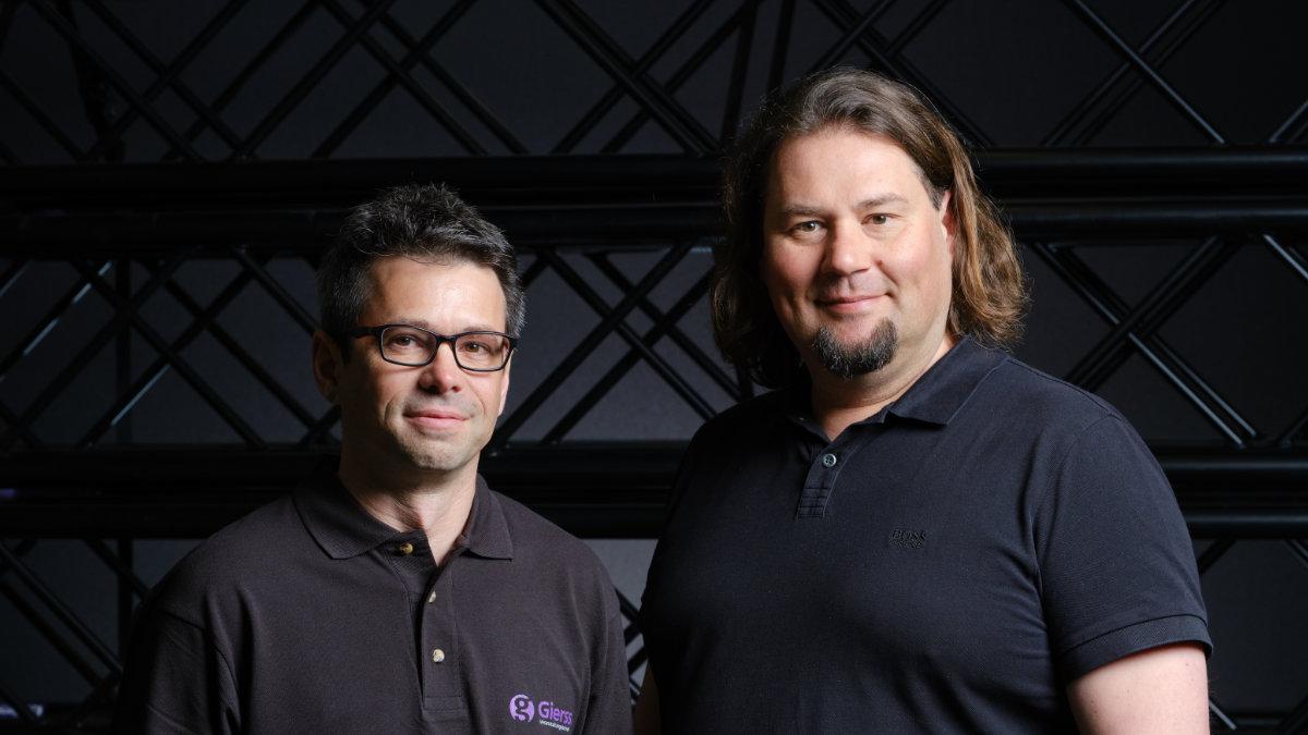 Mathias Brugger und Florian Rapp leiten jetzt Gierss. Veranstaltungstechnik
