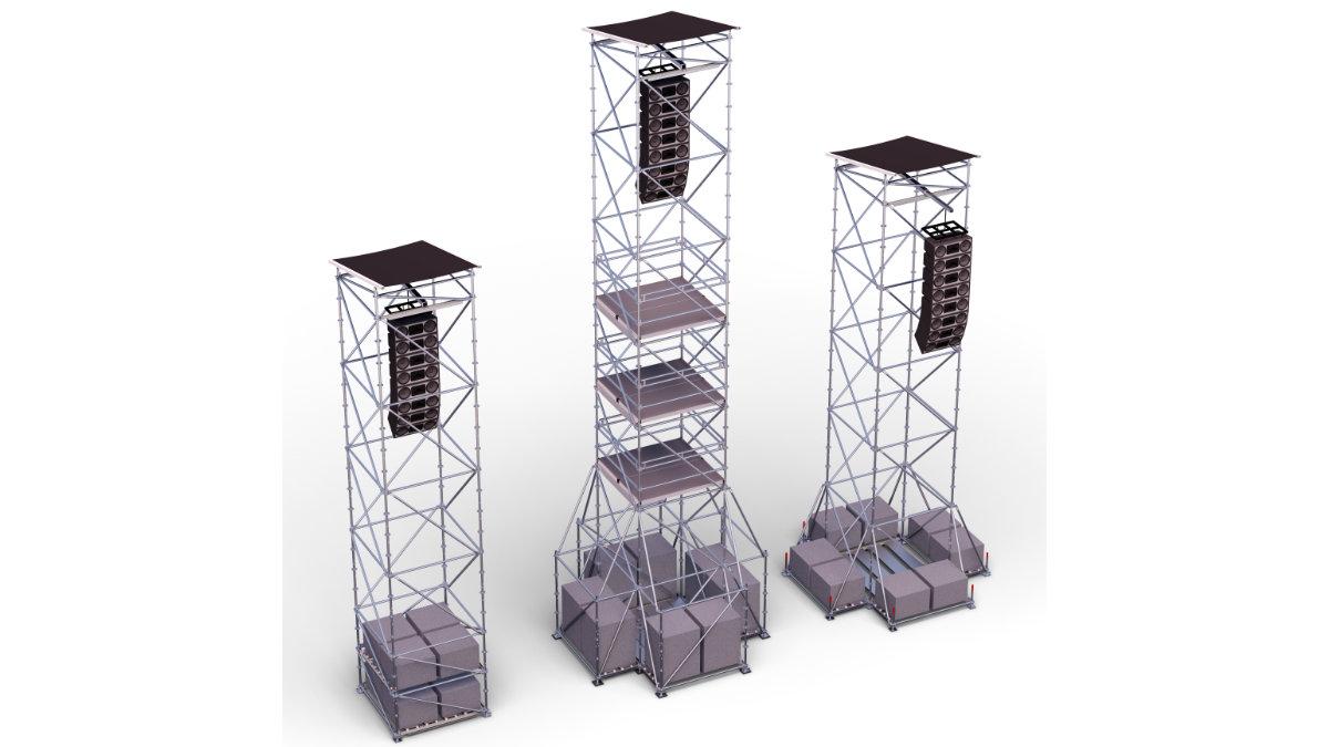 Layher präsentierte den neuen PA-Turm PLUS