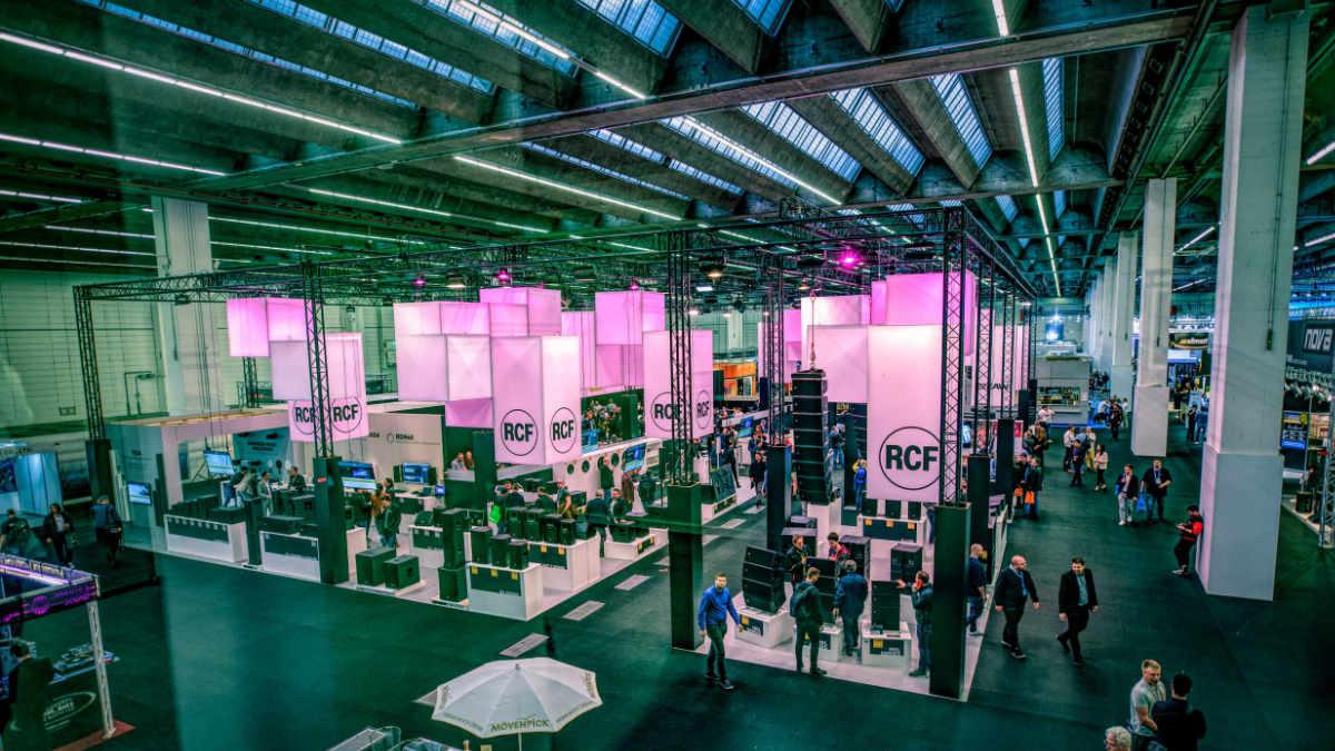 dBTechnologies und RCF ziehen positive Messebilanz