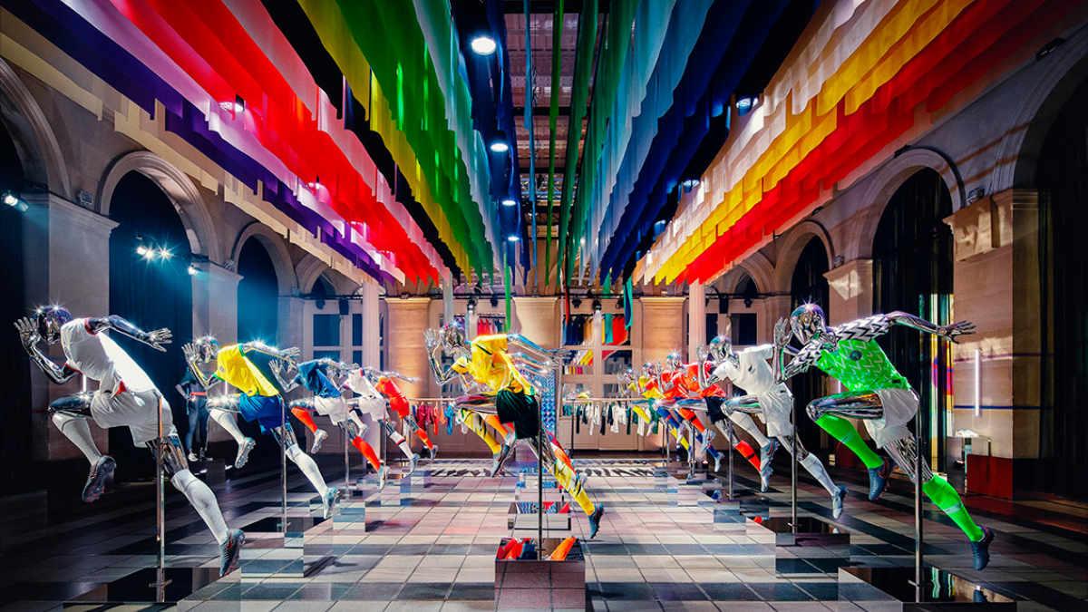 satis&fy unterstützt Nike Presse-Launch in Paris