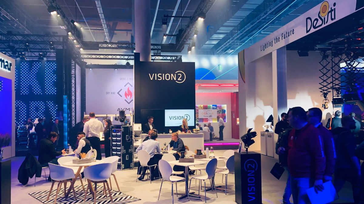 VisionTwo zieht positive Bilanz der Prolight + Sound