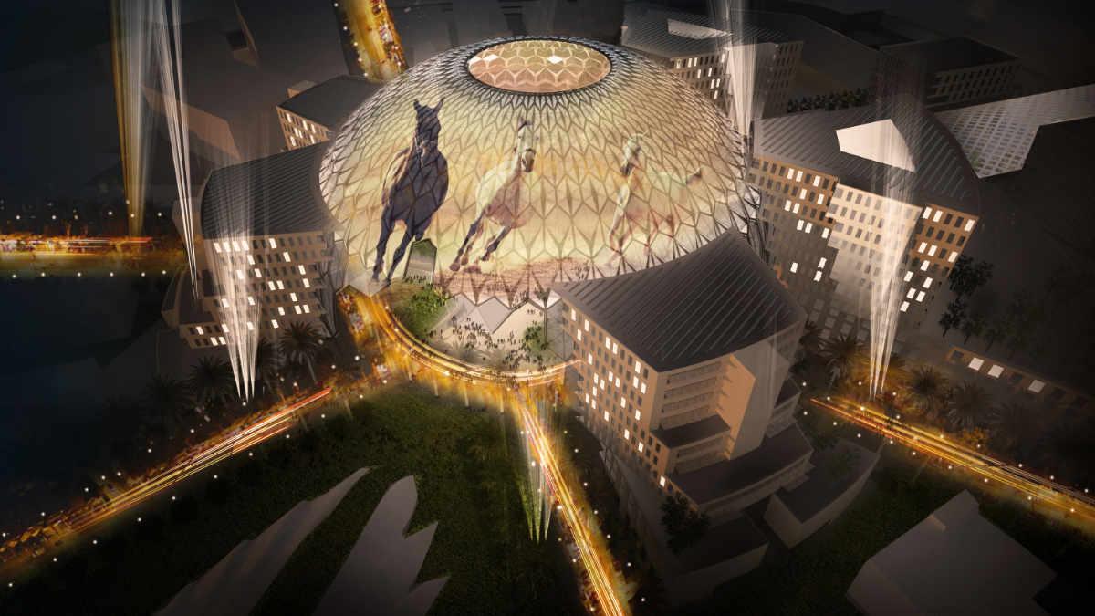 Christie ist offizieller Display und Projektionspartner der Expo 2020 Dubai