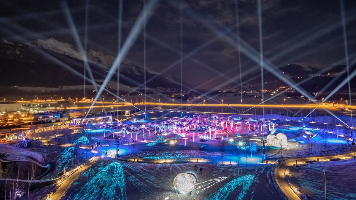 Lichtfestival in den Swarovski Kristallwelten