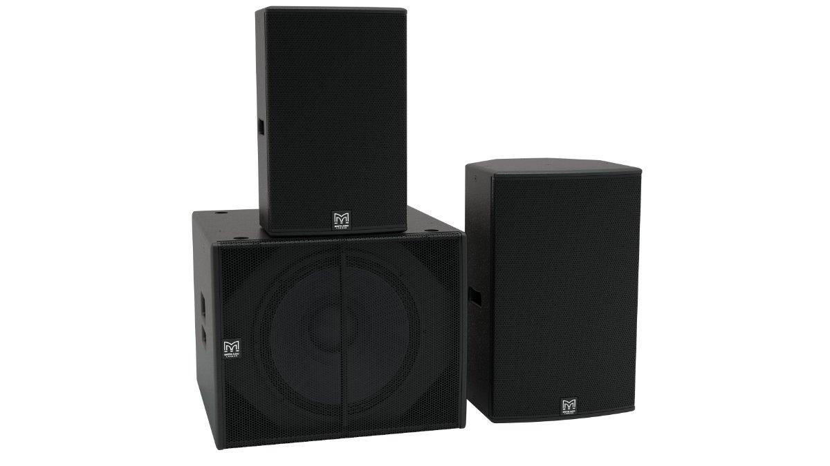 Martin Audio stellt aktive Lautsprecherserie BlacklineX vor