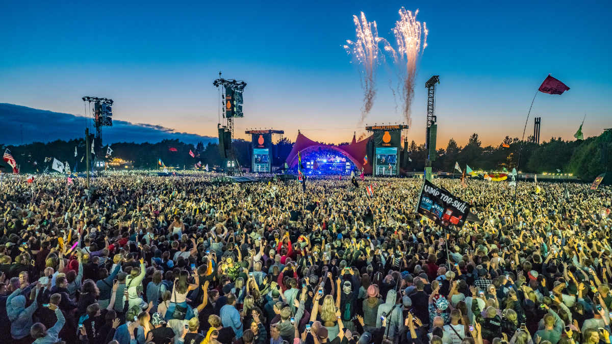 Meyer Sound stattet wieder das Roskilde-Festival aus