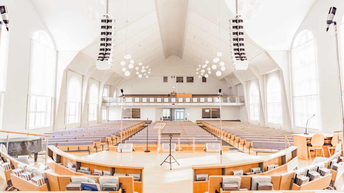 RCF HDL 10-A für die evangelische Freikirche in Paderborn