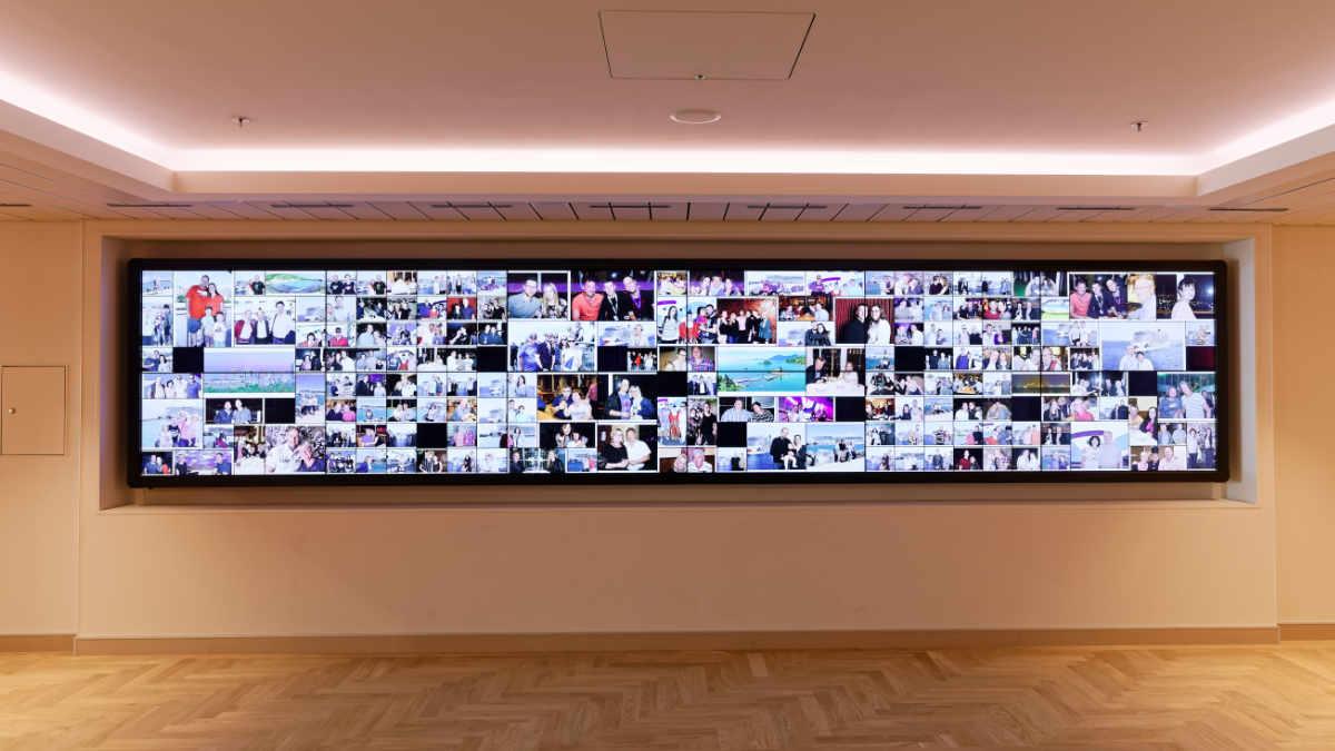 Amptown System Company installiert Bild- und Video auf der AIDAnova