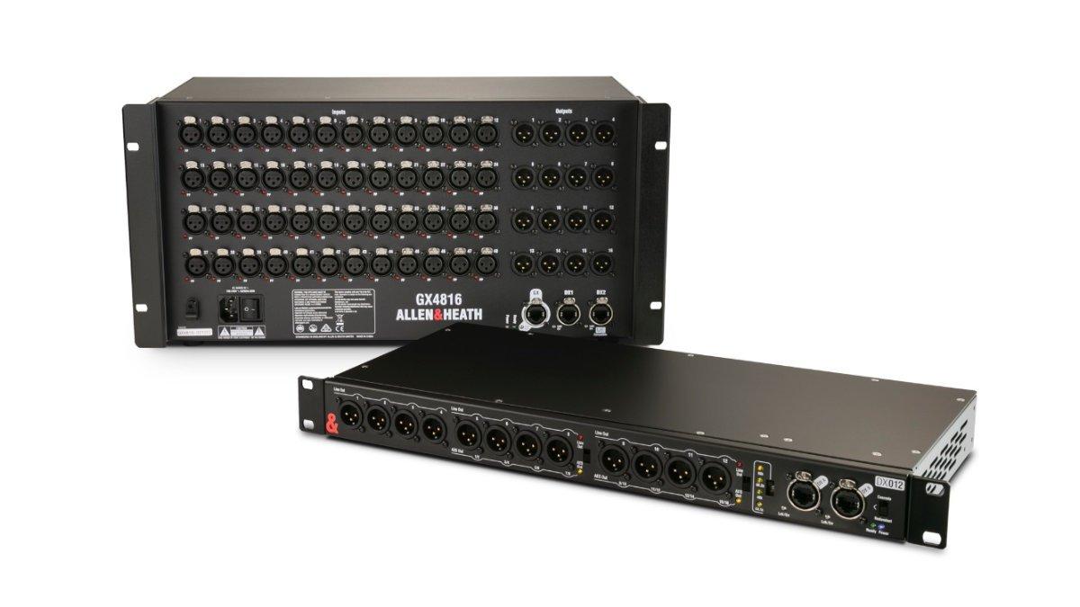 Allen & Heath präsentiert die Remote Audio Expander GX4816 und DX012