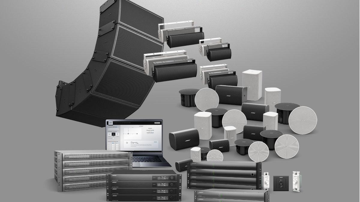 Bose Professional erweitert seine Produktpalette