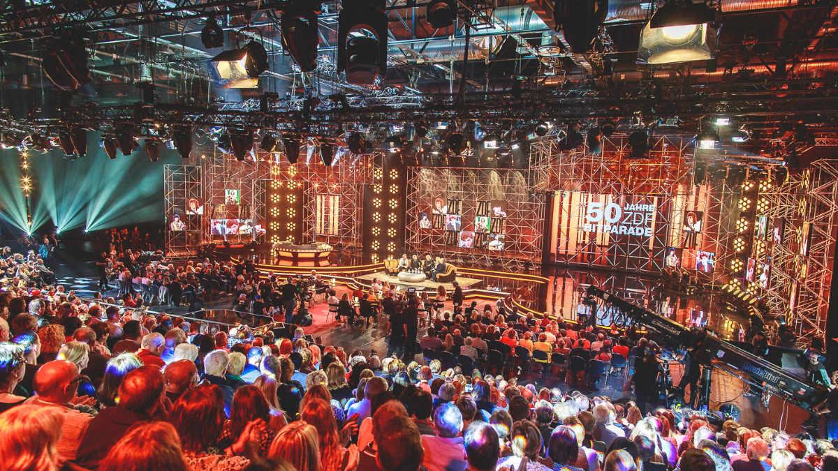 Thomas Gerdon setzt auf GLP Scheinwerfer bei der ZDF Hitparade