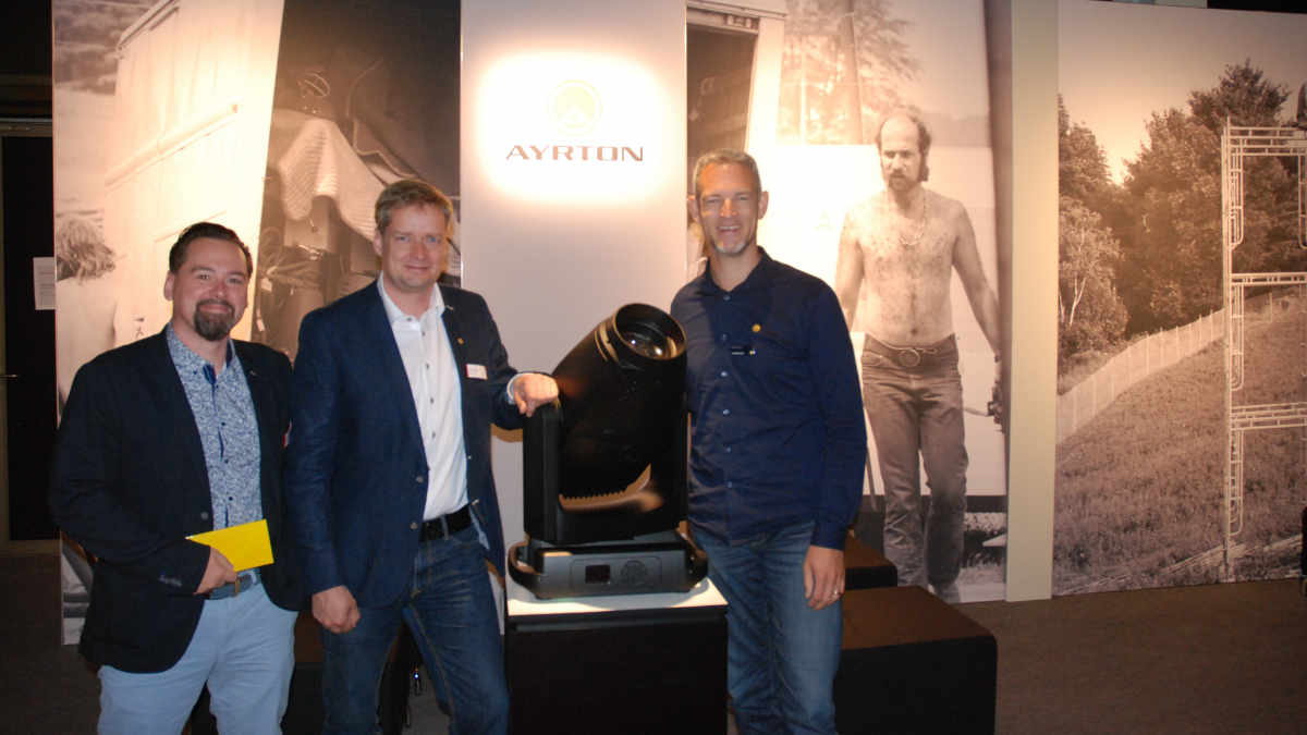 Lightpower übernimmt auch in Österreich den Vertrieb von Ayrton