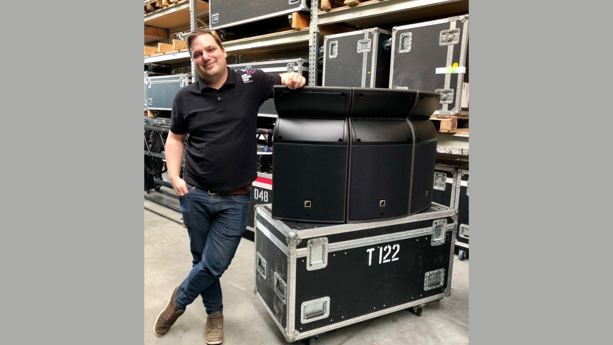 Die Media Resource Group investiert in die A-Serie von L-Acoustics