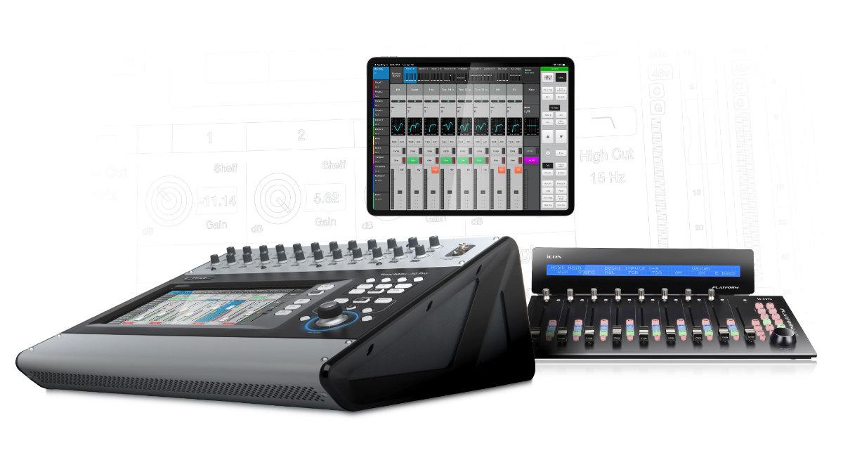 QSC veröffentlicht Firmware v2.0 für TouchMix-30 Pro