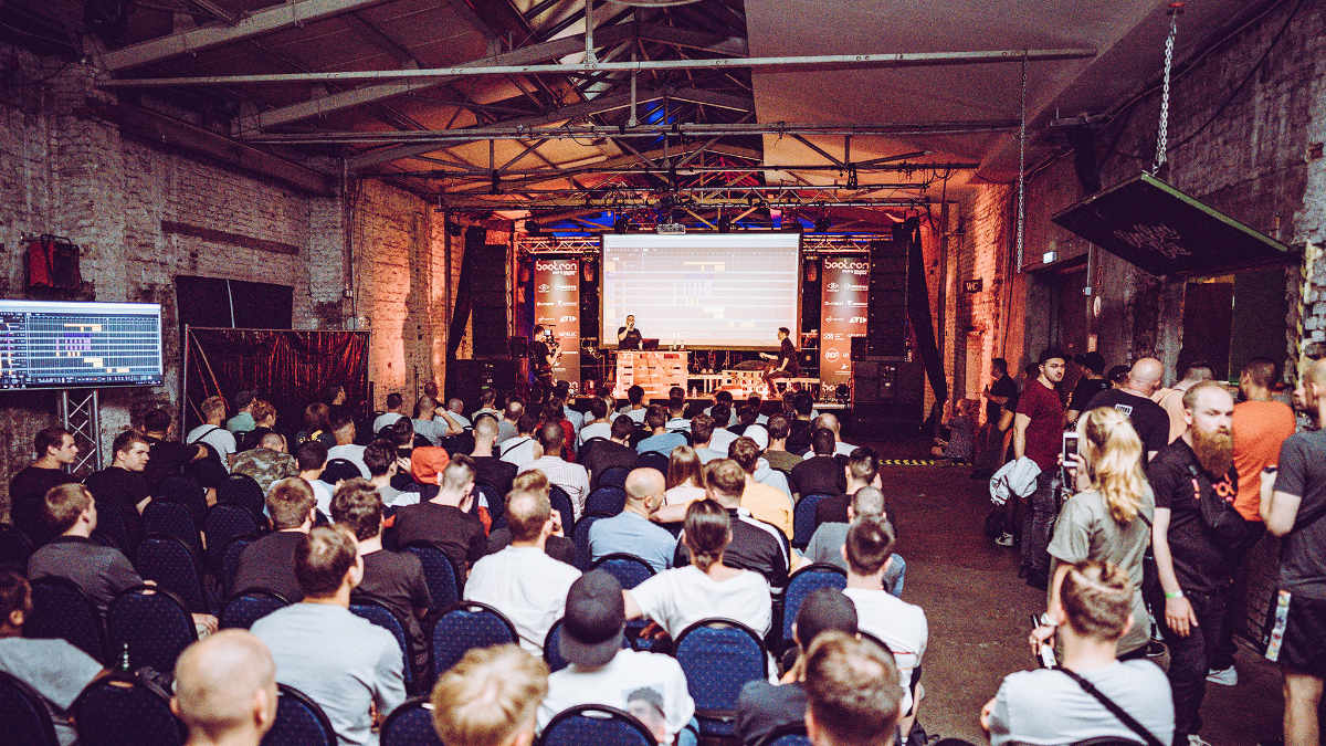 RCF beschallt die Hiphop Producers Conference beatcon