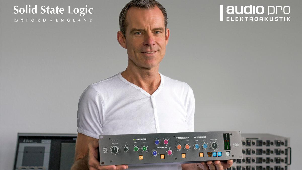 Audio Pro vertreibt Studio-Produkte von Solid State Logic