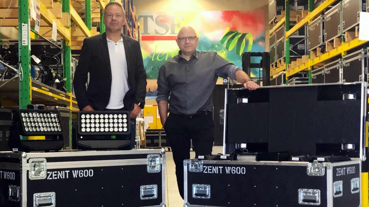 TSE investiert in Cameo Light ZENIT W600