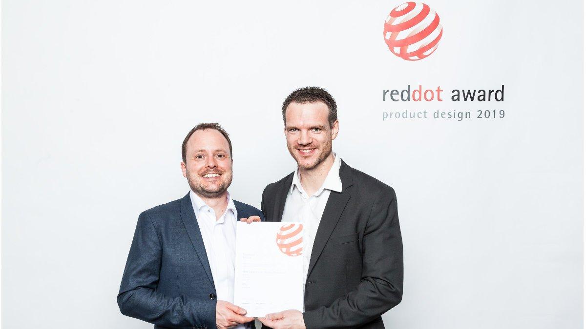 DPA freut sich über den Red Dot Award für das d:fine CORE 6066
